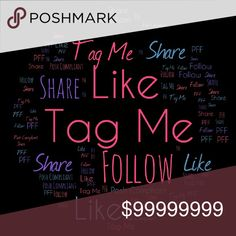 PFF Tag List For Posh Compliant Closets Dear PFFs, if you love to share, follow, be tagged on sales, parties and any other interesting Posh things that I discover, please comment and Like this listing so that I can include you. PPAMPRRD Other
