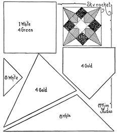 Quilt pattern: Skyrocket