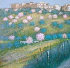 Primavera 80x80 cm Luigi Torre painter 2016
