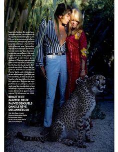 bardotlovers: Brigitte Bardot and Gunter Sachs. http://www.bardotdatabase.com/gallery