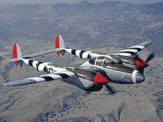 The Lockheed P-38 Lightning One of my favorite aircraft