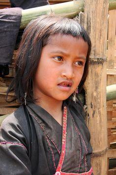 The tribal village of Pan Le, Shan state, Myanmar / Burma