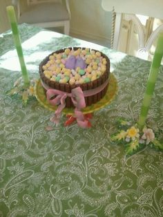 My version of the Kit Kat Cake, Easter Style!