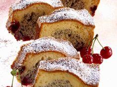 Mohnkuchen mit Kirschen ist ein Rezept mit frischen Zutaten aus der Kategorie Kastenkuchen. Probieren Sie dieses und weitere Rezepte von EAT SMARTER!