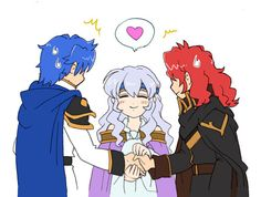 Fire Emblem;Geneology of the Holy War Deirdre: Love is the answer guys