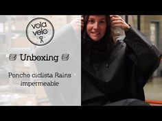 Unboxing: Poncho Ciclista Rains Impermeable - YouTube