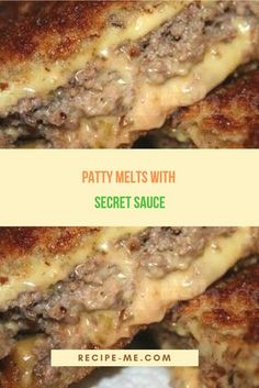 Excellent Patty Melts – Put Sandwich together and grill like cheese sandwich. The post Patty Melts – Put Sandwich together and grill like cheese sandwich. appeared first on Recipes . Crock Pot Recipes, Beef Steak Recipes, Meat Recipes, Cooking Recipes, Healthy Recipes, Beef Meals, Cooking Beef, Beef Tips, Cooking Tips