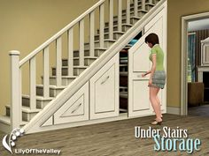 Under Stairs Storage by LilyoftheValley  http://www.thesimsresource.com/downloads/1133994