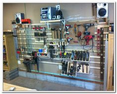 French Cleat Garage Storage Systems   Home Design Ideas