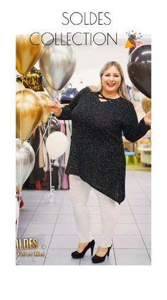 Je déclare la saison des soldes ouverte #fête #soldes #petitsprix #grandetaille #nouvelan #tunique #pantalon #collection #femme #classe #31 Dfs, Plus Size Fashion, Collection, Full Figure Style, Plus Sized Clothing, Plus Size Clothing, Plus Size Fashions, Plus Sizes Fashion, Curvy Girl Fashion