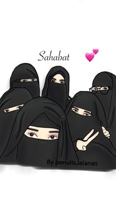 19 Ideas For Womens Wallpaper Faces Anime Muslim, Muslim Hijab, Muslim Girls, Muslim Women, Hijab Drawing, Islamic Cartoon, Niqab Fashion, Girly M, Hijab Cartoon
