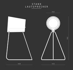 L242 Standlautsprecher Dimensionen Vonschloo
