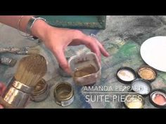 French Gilding Wax- How To Apply It - YouTube