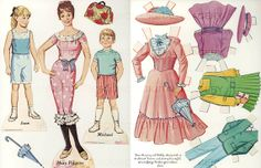 Vintage Disney Mary Poppins Printable Paper Dolls by mindfulresource, #vintage #paperdolls #marypoppins