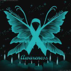 Butterfly w awareness ribbon