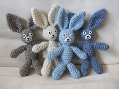 A Bunch of Bunny Boys... by Very Berry Handmade, via Flickr