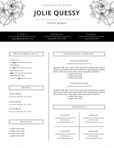 Sample Cv Fashion Industry