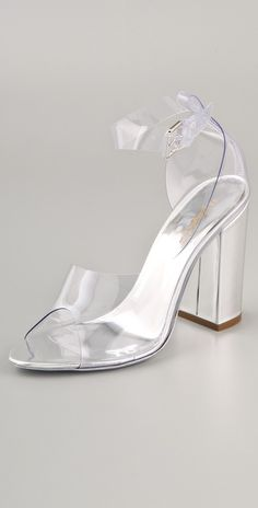 Today's So Shoe Me is the Cody d'Orsay Heels by 3.1 Phillip Lim, $625, available at Shopbop. Spring fashion usually consists of light pastels and floral prints but this year take a clear step forward with see through accessories that shine amongst neutrals, pastels and brights.