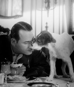 The Artist with Jean Dujardin & Uggie - I lovr this picture, full of love. Mans Best Friend, Best Friends, The Artist Movie, Jean Dujardin, Water For Elephants, You Make Me Laugh, Actors, Period Dramas, What Is Love