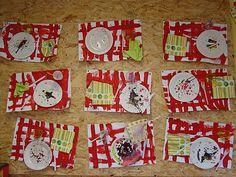 Spoerri chez Isabelle L: tribune libre - école petite section Little Chef, Simple Art, Art Plastique, Activities For Kids, Kindergarten, Collage, Explorer, Holiday Decor, Ps