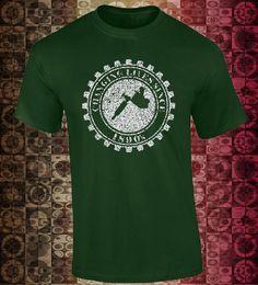 Camiseta con Máquina de Tatuaje!!! Playera con diseño de la casa!!! de ArteImMrAmA en Etsy
