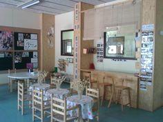escola martinet - Buscar con Google Learning Environments, Indoor, Restaurant, Furniture, Home Decor, School, Google, Classroom, Spaces