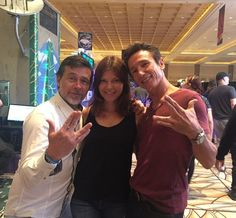Connor and friends at STLV 50