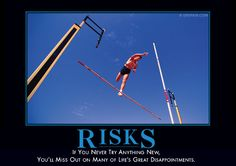 Risks Demotivator