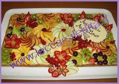 Crostata alla frutta di Agostino Diy Birthday, Birthday Gifts, Birthday Cake, Fruit Arrangements, Tutti Frutti, Fruit Salad, Deserts, Fruit Cakes, Bing Images