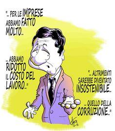 #satira #politica #società #corruzione #IoSeguoItalianComics