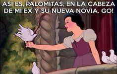 #BlancaNieves #Palomas #Ex #HumorPrincesas