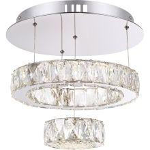 Globo 49350D1 - LED lustr AMUR LED/28W/230V