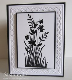 Meadow plant silhouette...beautiful!