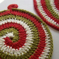 Spiral Crochet Potholder