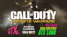 Call of Duty Infinite Warfare * Asus Rog Strix GTX 1080 8GB  / intel I7 ...