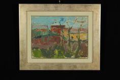 Gino Moro (1901-1977),Paesaggio lombardo,1972