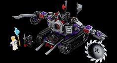 LEGO.com Ninjago Products - Models - 70726 DESTRUCTOID LIMITED EDITION