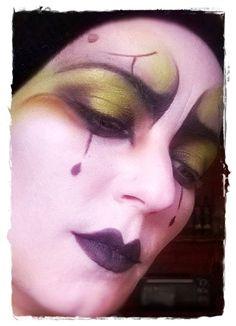 #payaso #maquillaje #artístico #mimo. #face#makeup #artistic #