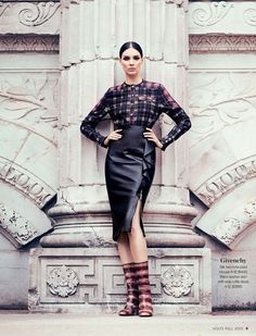 Kati Nescher in Givenchy #holtsmag