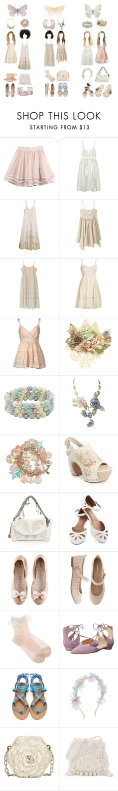 """""""Field trip ver.10 {soft as butterflies wings}"""" by aurenfaie ❤ liked on Polyvore featuring Twenty8Twelve, Timo Weiland, VILA, Her Curious Nature, Honora, Tarina Tarantino, Theory, Alexander McQueen, Jeffrey Campbell and H&M"""