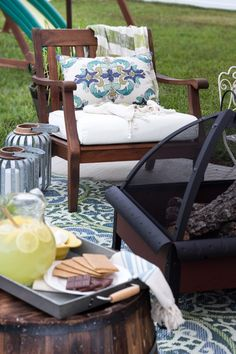How To Decorate A Small Patio Via Blessu0027er Hours For Cost Plus World Market