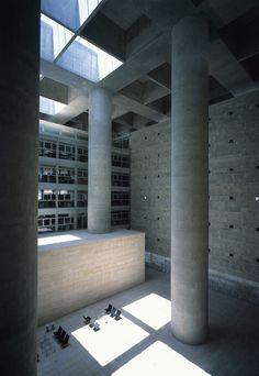 Central Headquarters of the CAJA. Granada, Spain / Alberto Campo Baeza
