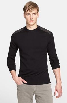Belstaff 'Ridgewell' Cotton Crewneck Sweater available at #Nordstrom