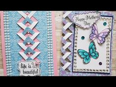 Paper Cards, 3d Cards, Cool Cards, Stampin Up Cards, Card Making Tutorials, Card Making Techniques, Homemade Birthday Cards, Homemade Cards, Fancy Fold Cards