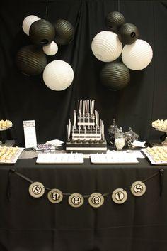 44 best black white themed party images black white parties rh pinterest com