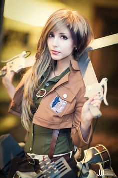 Wow... Amazing genderbent Jean cosplay! :D Is that her real hair? It's so pretty! :]