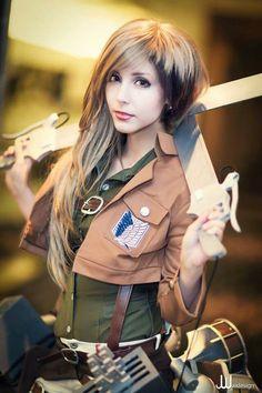 Wow... Amazing genderbent Jean cosplay!