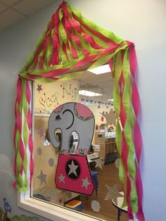 Circus Theme Preschool - we could use this to decorate cocoon
