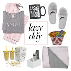 lazy with vs by evemilch on Polyvore featuring polyvore fashion style Victoria's Secret clothing