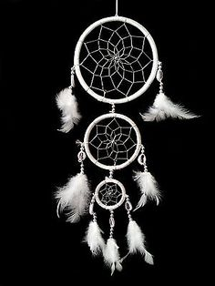 Dream Catcher with Feathers Wall Hanging Decoration Ornament 3W | eBay